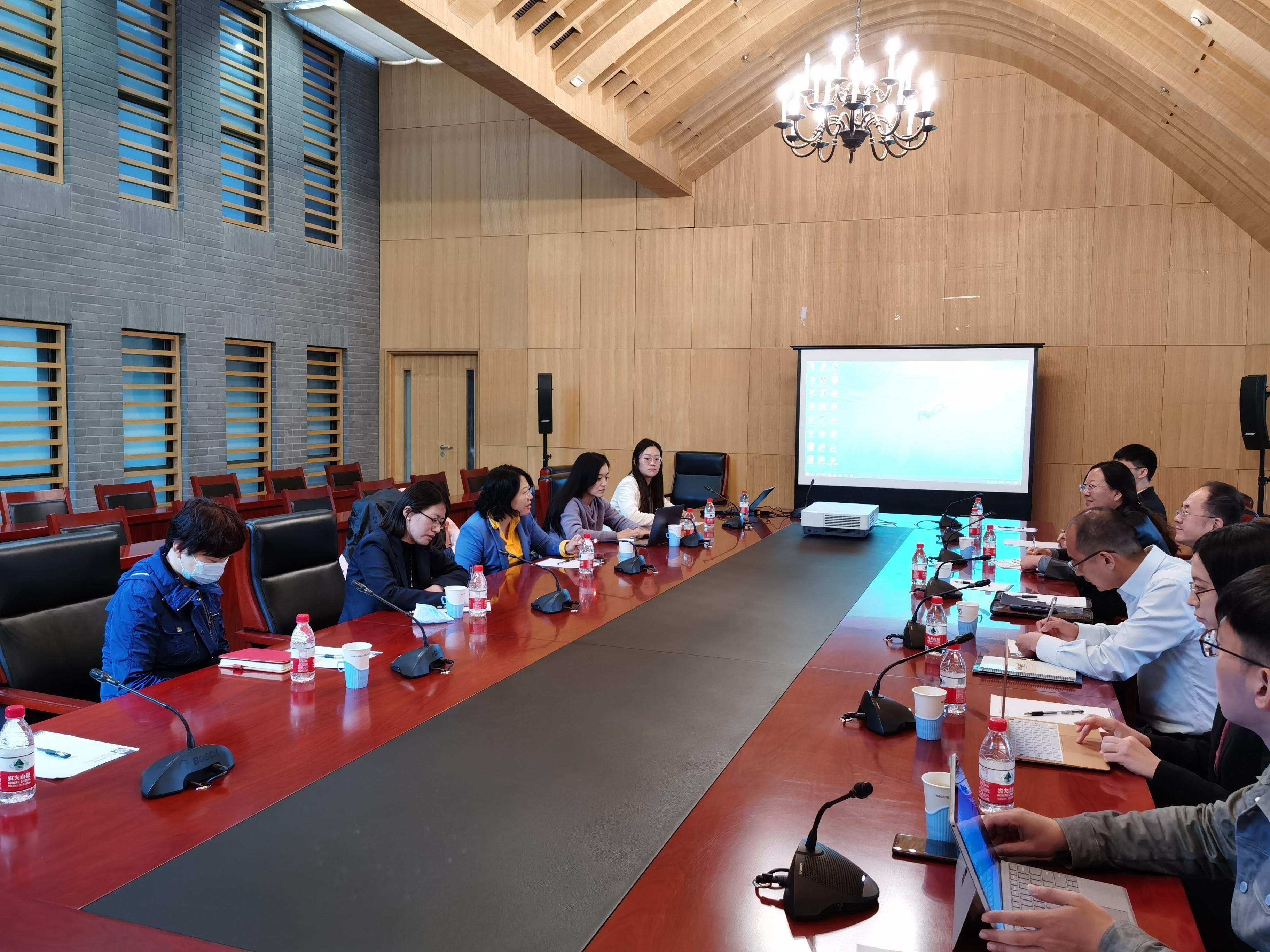 国际组织学院教研活动顺利举办 ——中国人民大学刘颖教授为学院发展献策